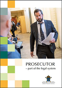 "Broschure ""Prosecutor - a part of the legal system"""